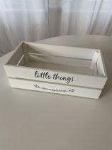 Aufbewahrungsbox Little things