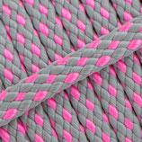 Jachtlijn grijs/roze