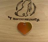 Dierpenning HI_LINE Heart large goudkleurig