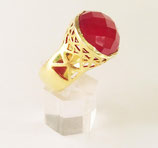 Cocktail-Ring RUBY RED - DA 119