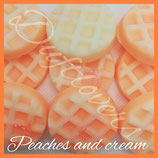 Peaches and cream Melts