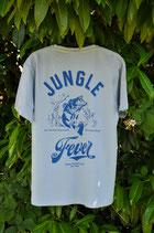 """T-Shirt """"Jungle Fever"""" blue"""