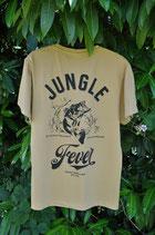 "T-Shirt ""Jungle Fever"" sand"