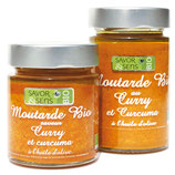 Moutarde au curry et curcuma 135g