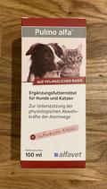 Alfavet Pulmo alfa - Hustensaft für Hunde