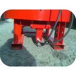 Betonmischer mit Hydraulikmotor