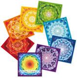 Mandala-Chakren-Kartenset