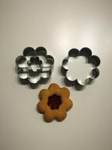 Linzer- (Hildabrödle-, Spitzbuben-) Ausstecher Blüte