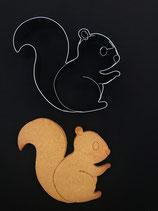 Präge-Ausstechform Eichhörnchen 1