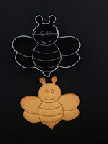 Präge-Ausstechform Biene 3