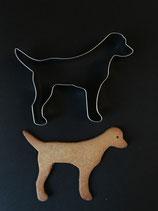 Ausstechform Labrador