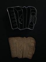 Präge-Ausstechform  Akkordeon