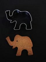 Ausstechform Elefant 2