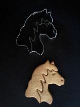 Präge-Ausstechform Pferdekopf
