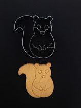 Präge-Ausstechform Eichhörnchen 2