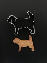 Präge-Ausstechform Beagle