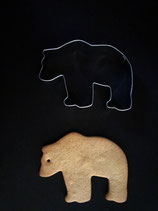 Ausstechform Bär/Eisbär 4