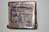Münsteraner Schwarzbrot, traditionelles westfälisches Roggenschrotbrot