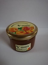 Aprikosenfruchtaufstrich Orange mit Zitronenmelisse