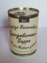Spargelcreme-Suppe