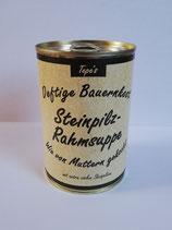 Steinpilz-Rahmsuppe