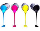 3-farbiger Druck (Mehrpreis)