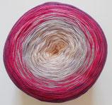 Bobbel Cotton, 4-fädig, lila + pink + flieder + rosa