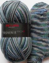 Pro Lana Sockenwolle, 150g, 6-fach, grün-blau-grau