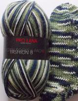 Pro Lana Sockenwolle, 150g, 6-fach, grün-marine-weiß