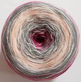 Bobbel Cotton Mirror, 4-fädig, pink-grau-rosa