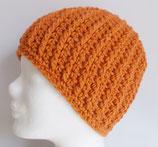 Beanie, rost-orange
