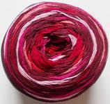 Bobbel Regenbogen Mirage, 4-fädig, bordeaux-rosa-pink-rot