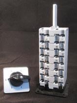 Stufenschalter für Stufentransformatoren 5stufig mit separatem Antrieb WAH 880