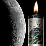 Nieuwe maan kaars.