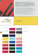 Farbkarte Poli-Tape Tubitherm DIN A4