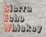 """Sierra Echo Whiskey"" Plotterdatei"