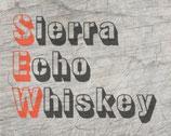 """Sierra Echo Whiskey"" Plotterdatei"