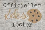 """Offizieller Keks Tester"" Plotterdatei"