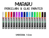 Marabu Porcelain & Glas Painter 1-2mm