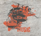 """""""Life Love Music"""" Plotterdatei"""