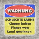 Plotterdatei 'Warnung'