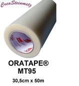 (1,90€/m²)Transferfolie / Übertragungsfolie Orafol Oratape MT 95 30,5cm x 50m
