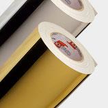 15,87€/m² Oracal 351 metallisierte Klebefolie Gold und Chrom DIN A4 (21x30cm)