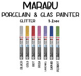 Marabu Porcelain & Glas Painter Glitter 1-2mm