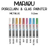 Marabu Porcelain & Glas Painter Metallic 1-2mm