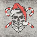 Plotterdatei 'Santa Skull'