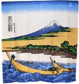 """Noren : """"Barques et Mont Fuji"""""""