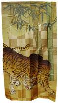 Noren Tigre et Bambous (B)