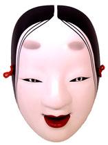 Masque de Nô :  Femme