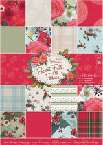 PACK PAPEL SCRAP POCKET FULL OF POSIES
